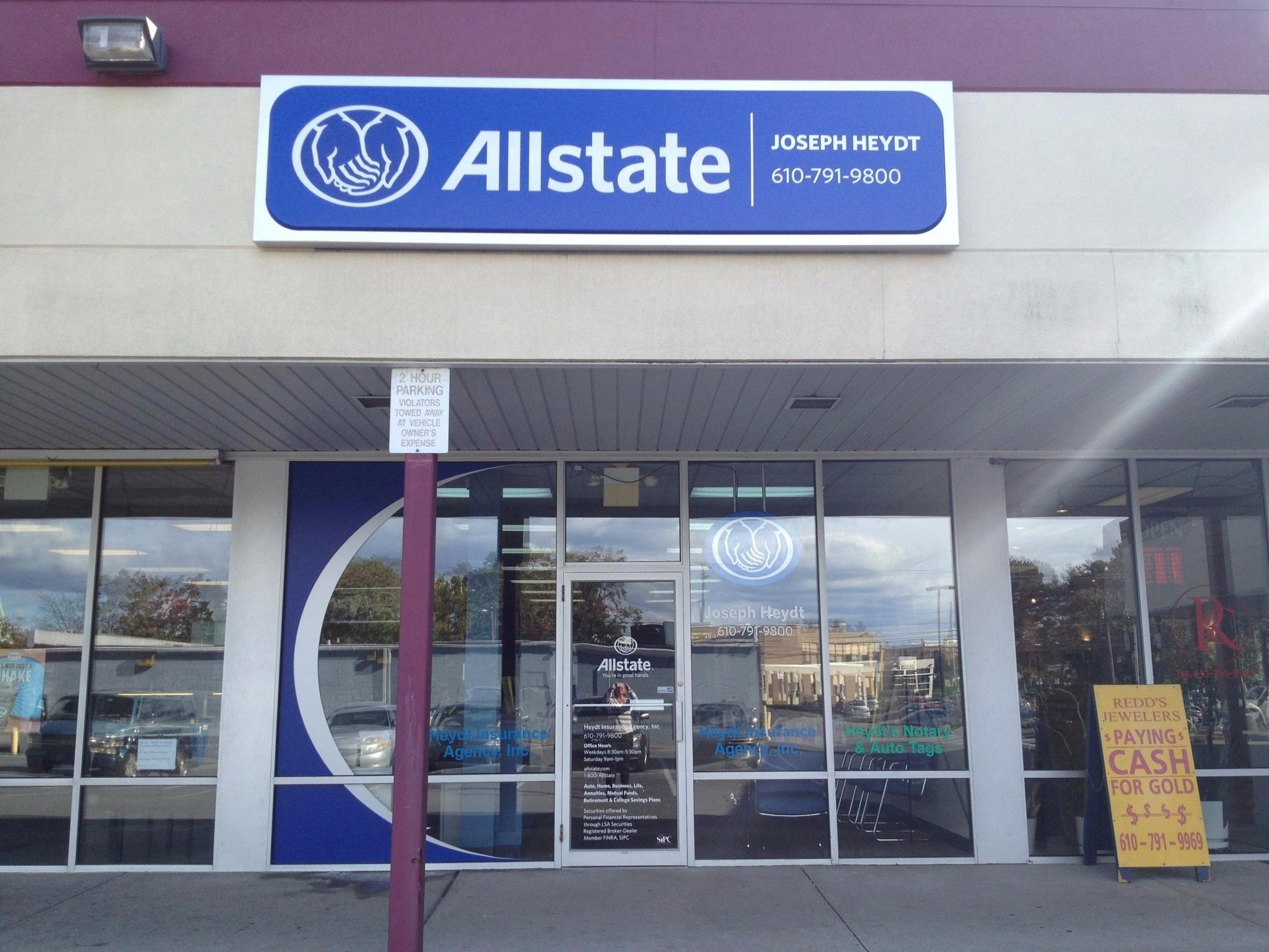 Allstate Insurance Agent Joseph Heydt Coupons Allentown Pa Near Me 8coupons