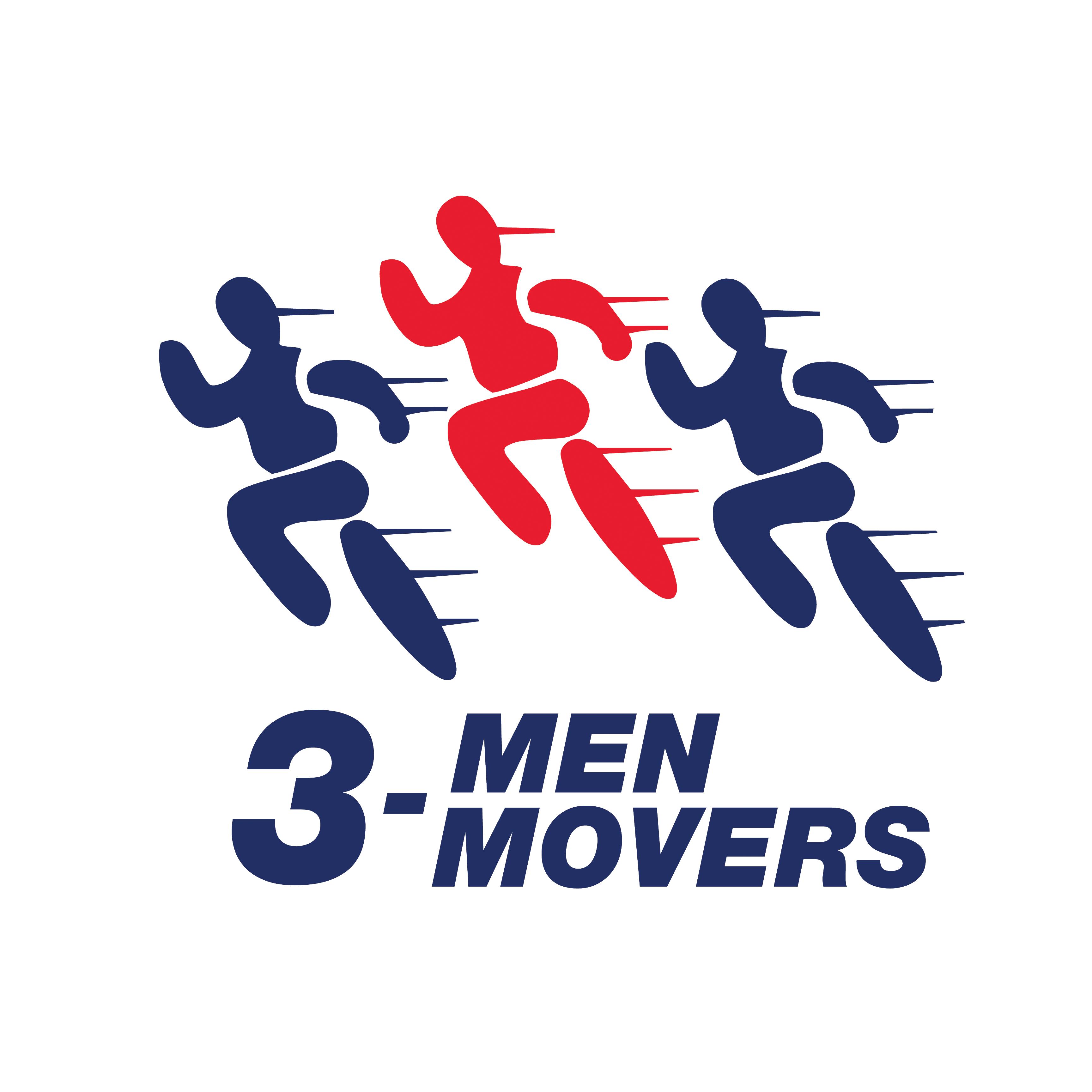 3 Men Movers - San Antonio Logo