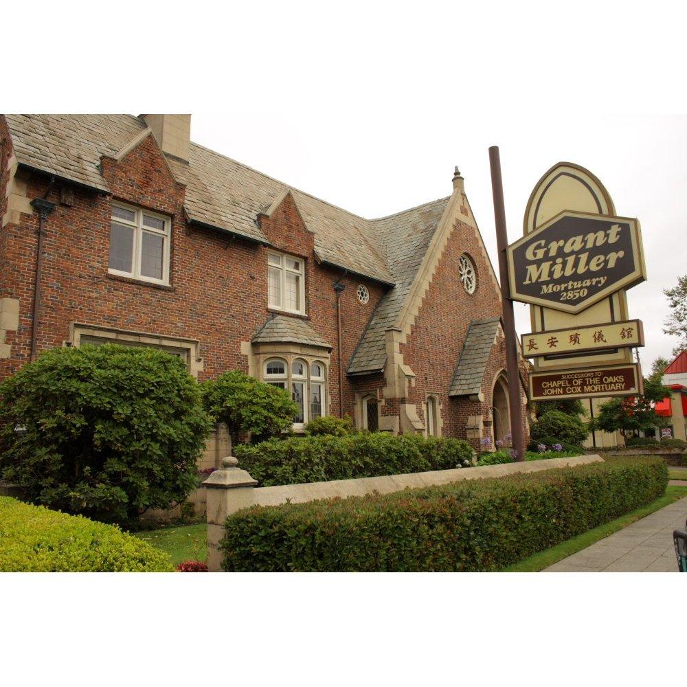 Grant Miller - John Cox Mortuary - Oakland, CA - Funeral Homes & Services