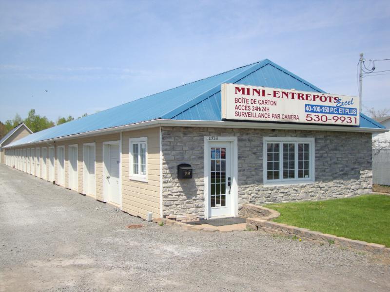 Mini Entrepôt Excel à Sainte-Sophie