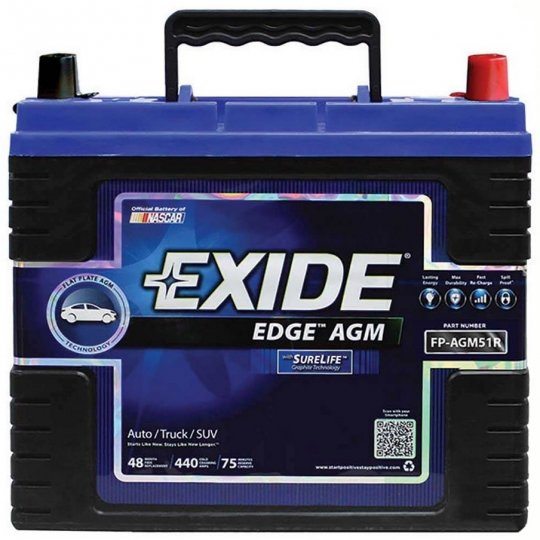 Exide batteries on sale