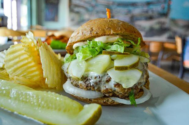 Gary's Dewey Beach Grill / 38° -75° Brewing famous turkey burger is well known down here in Dewey Beach