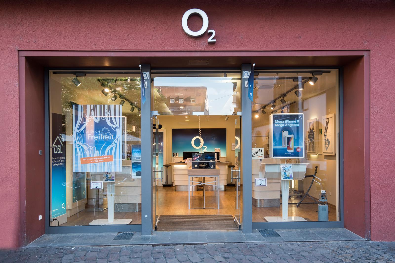 o2 Shop, Rathausgasse 12 in Freiburg im Breisgau