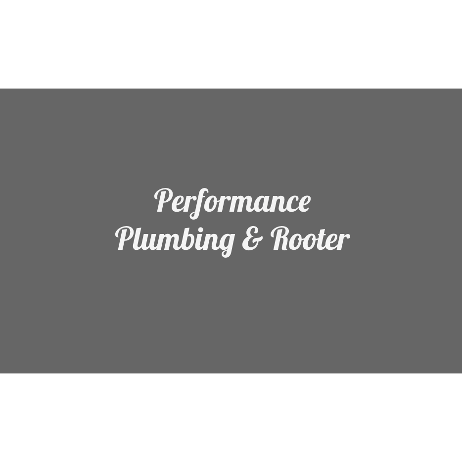 Performance Plumbing & Rooter