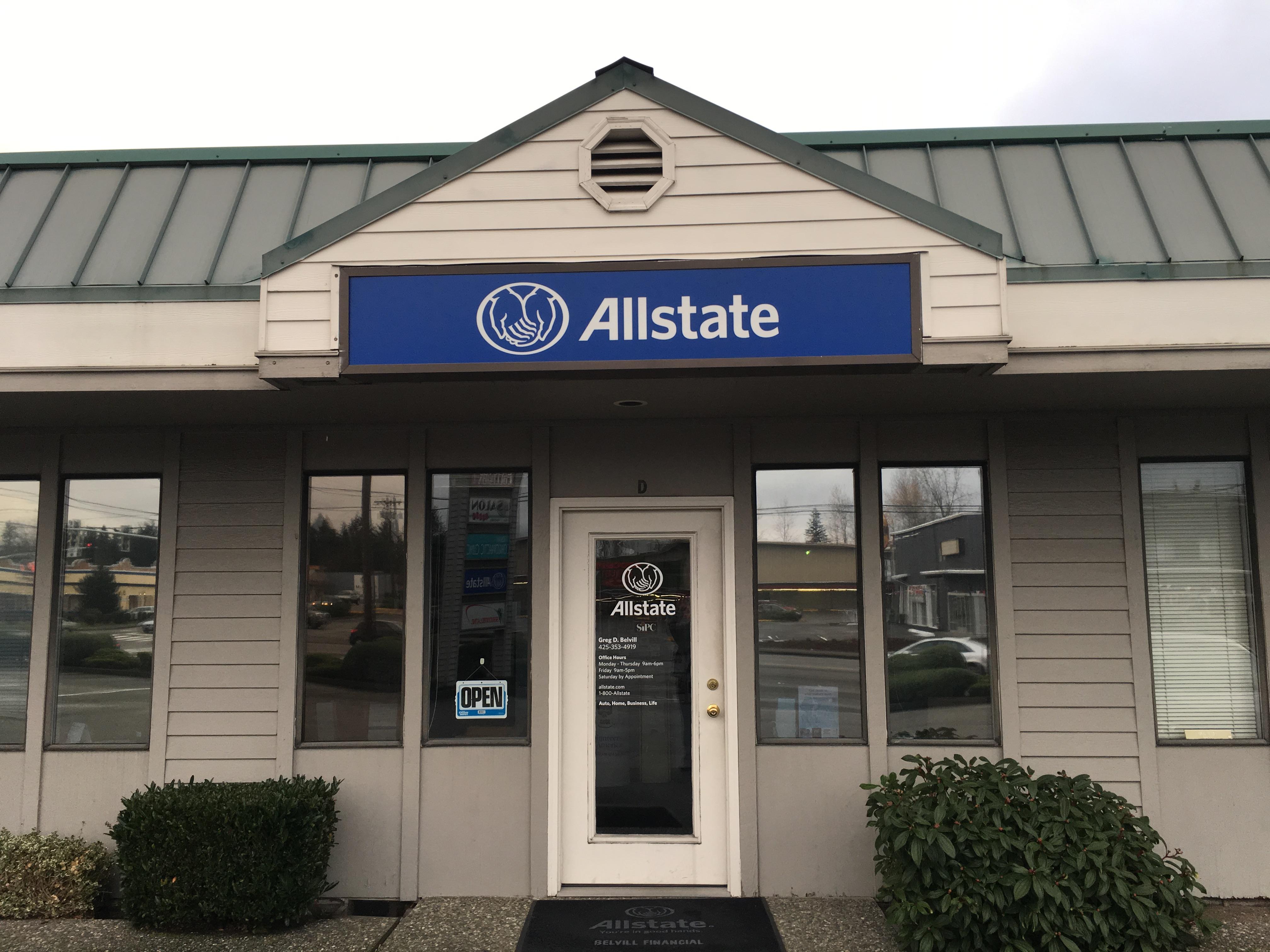 Greg D. Belvill: Allstate Insurance image 1