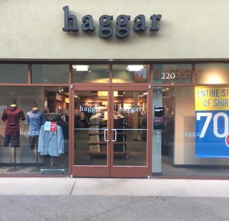 5f0ab2e2c Haggar Outlet Store at Woodburn Premium Outlets