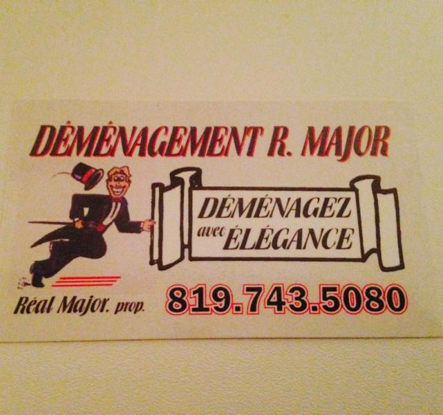 Déménagement R. Major