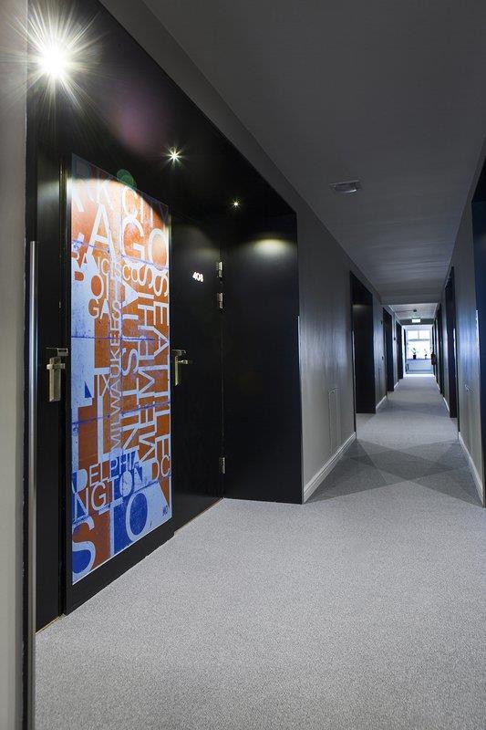 Corridor Hallway 4th Floor
