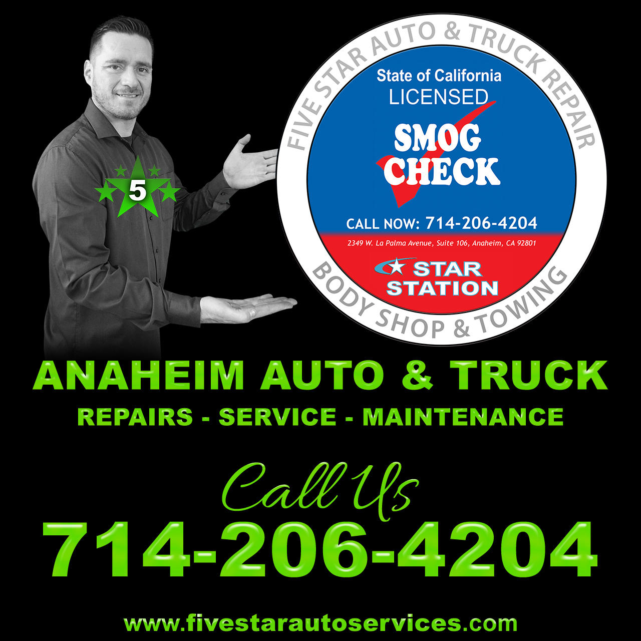 Five Star Auto & Truck Repair image 1