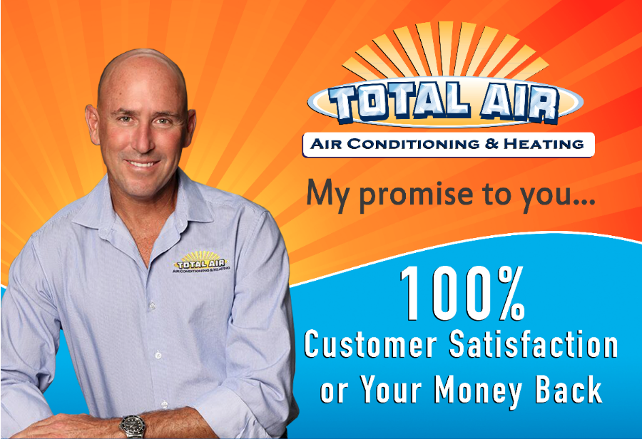 Total Air Offers 100% Customer Satisfaction