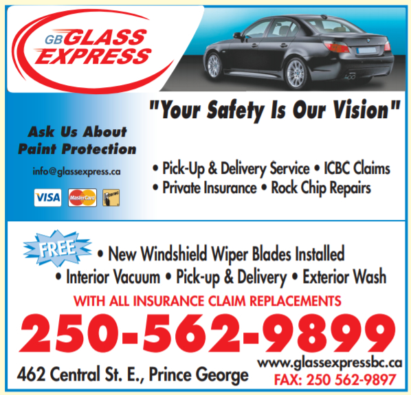 Glass Express in Prince George