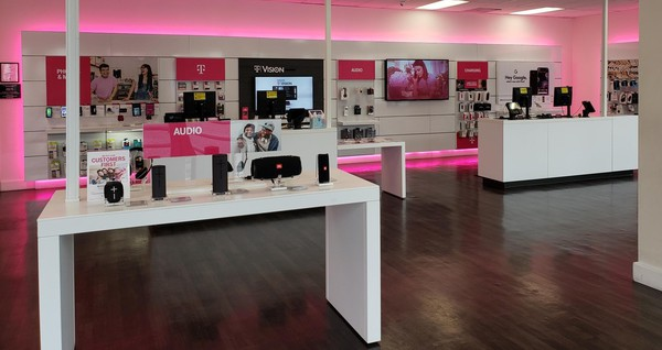 Interior photo of T-Mobile Store at 3rd St & Kenmore Ave, Los Angeles, CA