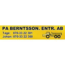 PA Berntsson. Entrepr. AB