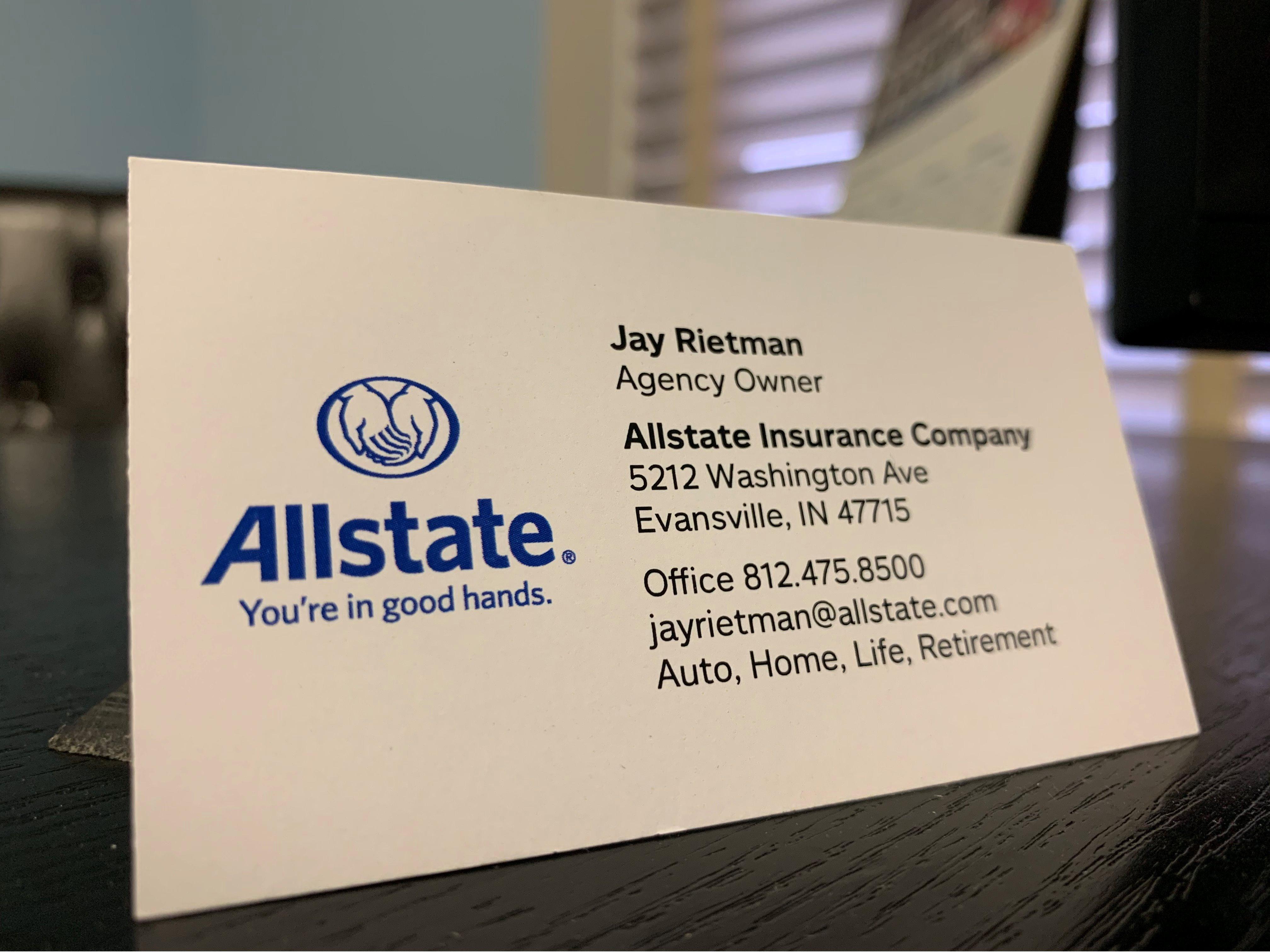 Jay Rietman: Allstate Insurance image 5