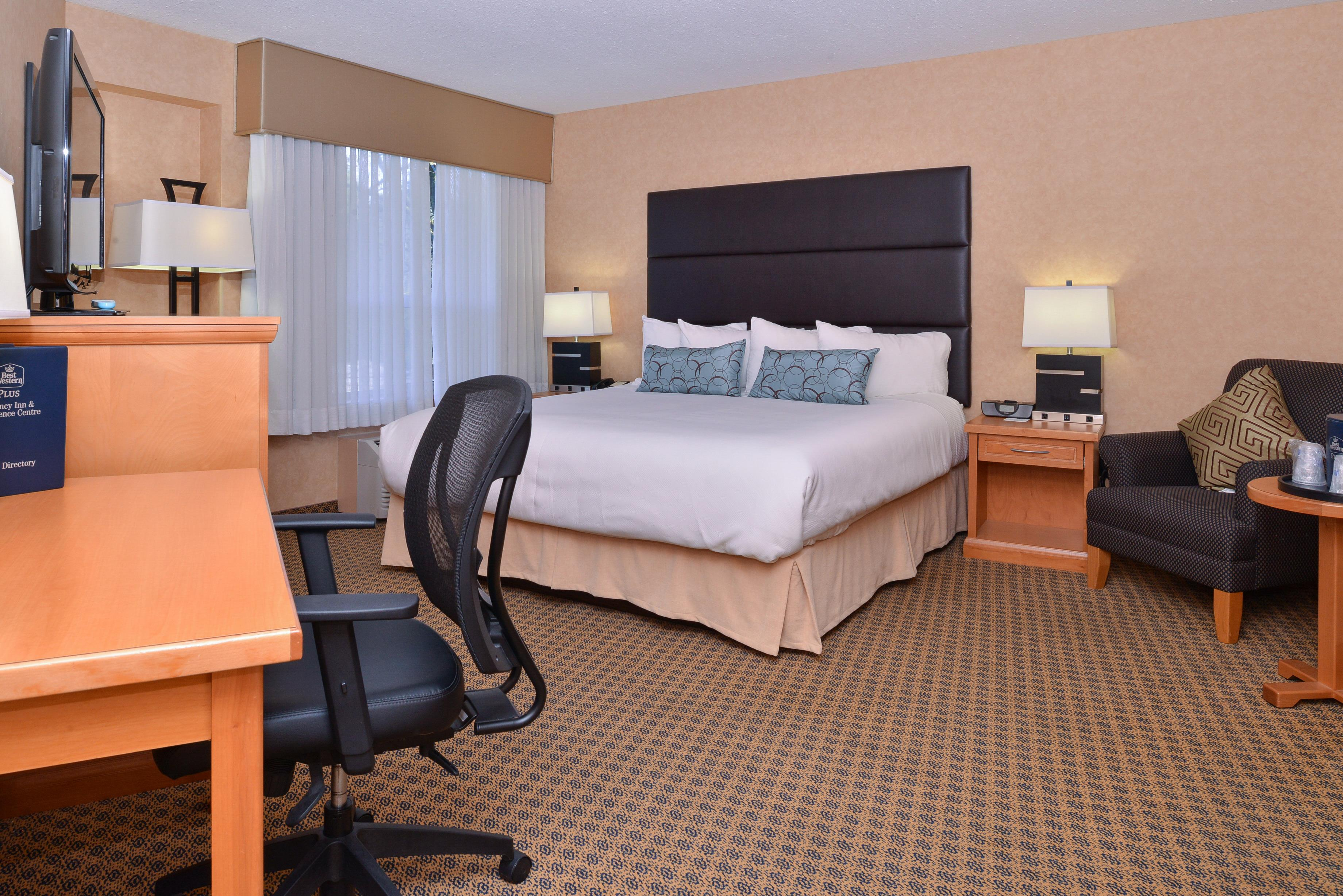 Best Western Plus Regency Inn & Conference Centre in Abbotsford: Crown Executive King