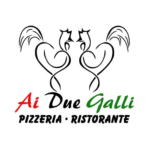 Logo von Pizzeria Ai Due Galli