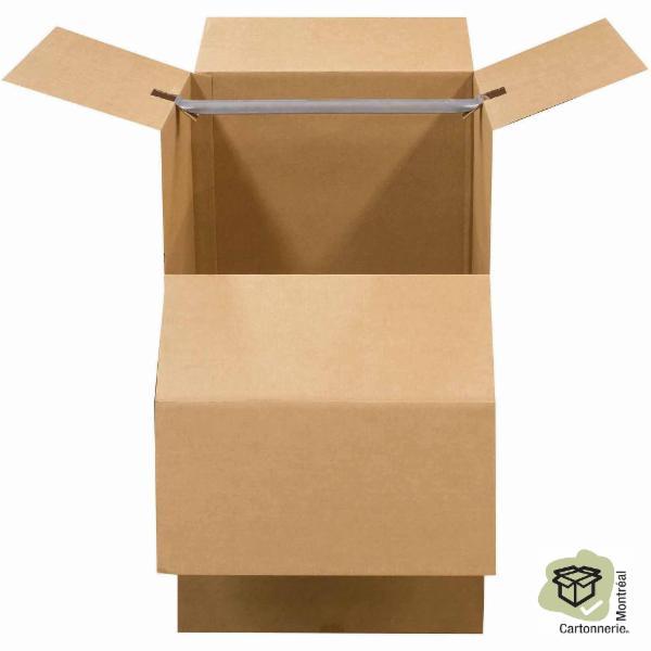 Cartonnerie Montréal Inc à Montréal: Wardrobe box
