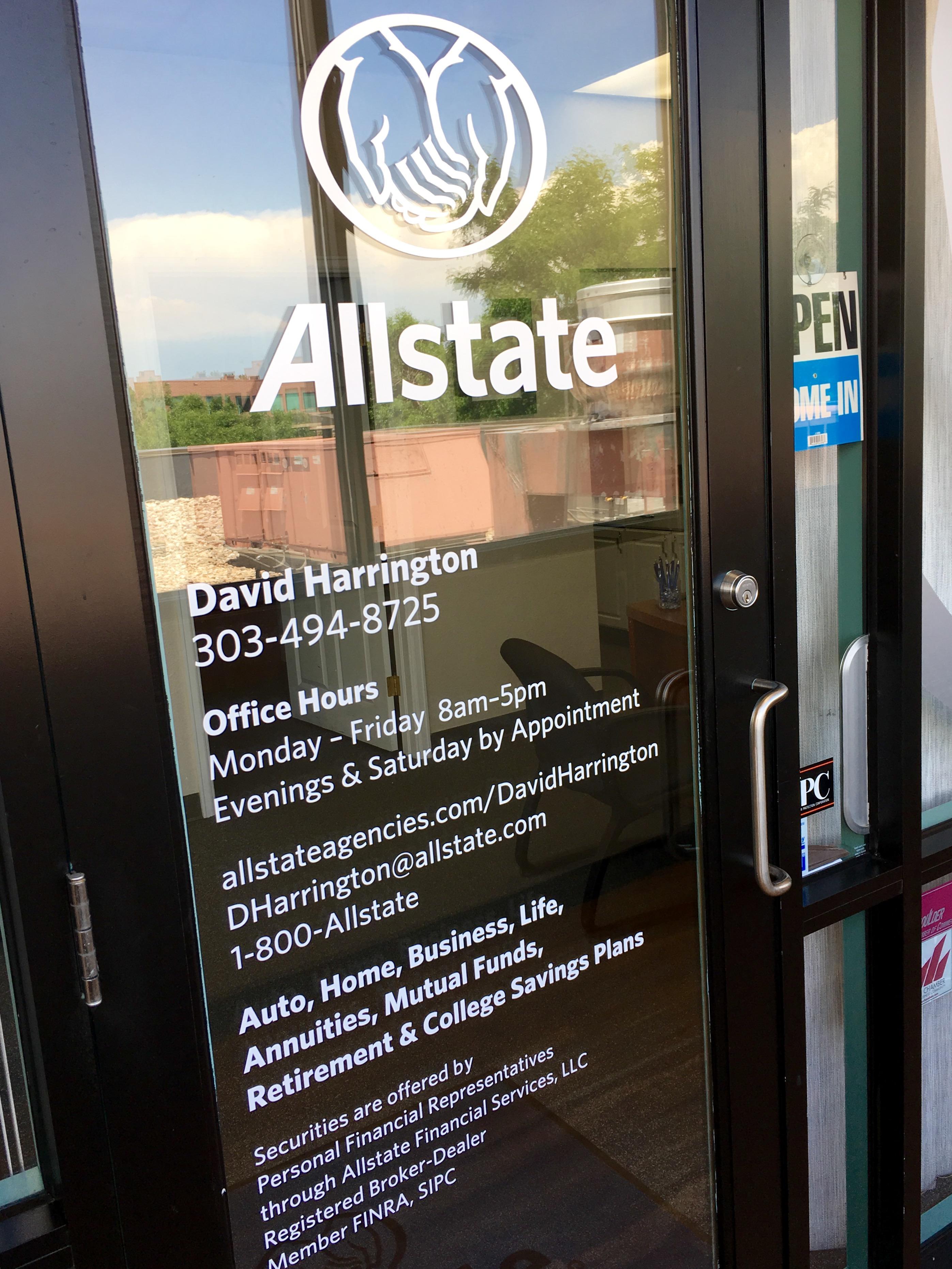Allstate Insurance Agent: David D Harrington image 5