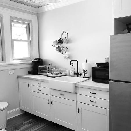 Amityville, NY Coworking Office Space, Kitchenette