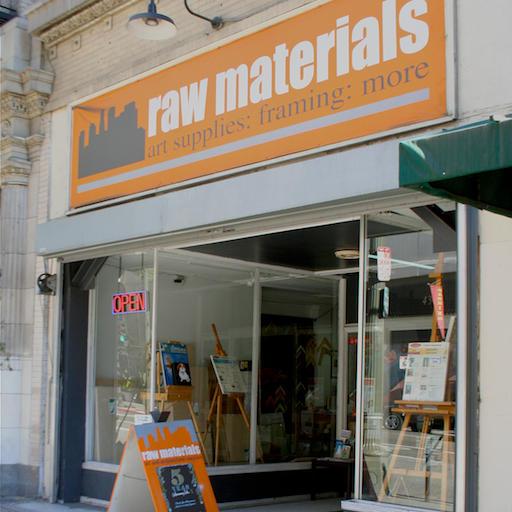 Raw Materials Art Supplies