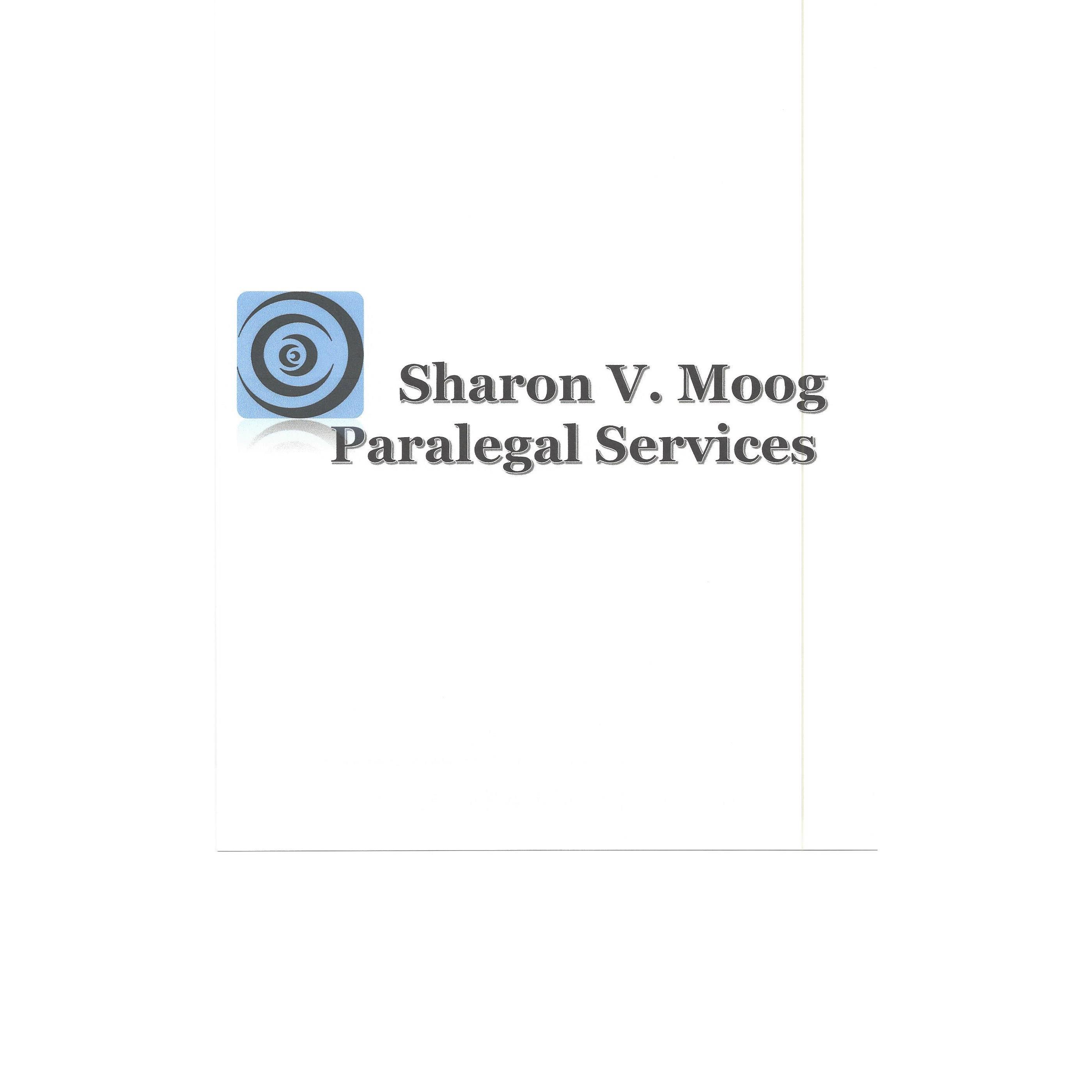 Sharon V Moog Paralegal Services