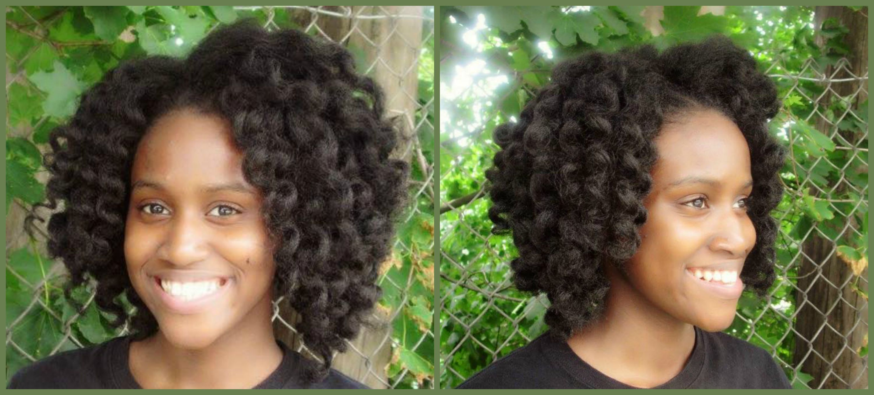 Crochet Hair Rubber : Black Hairstyle and Haircuts