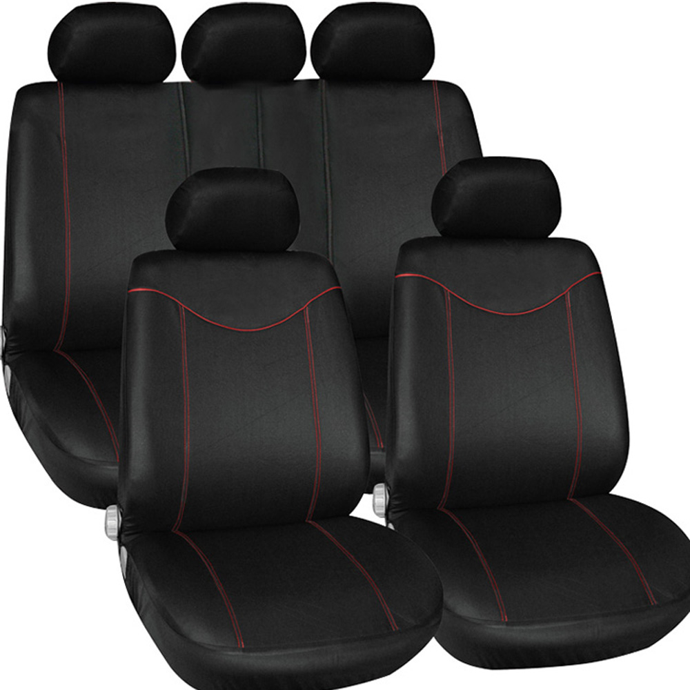 Dale's Auto Upholstery Centre in Medicine Hat: Fancy black seats