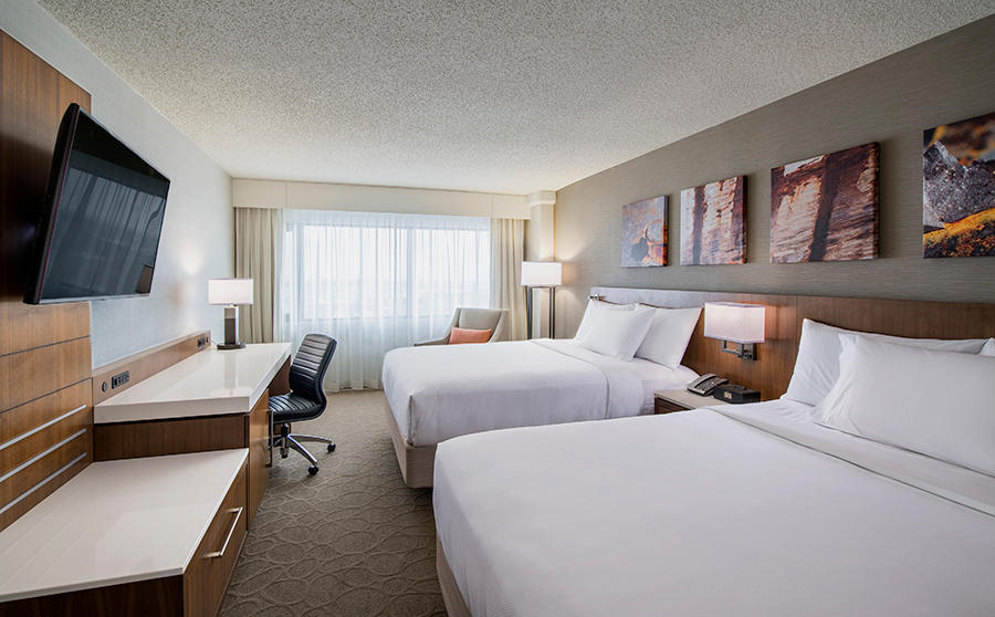 Delta Hotels by Marriott Regina in Regina: Deluxe Room- Two Queen Beds