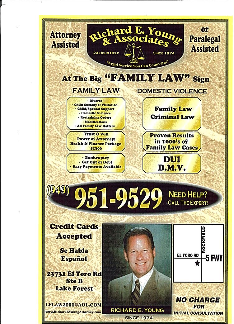 Family Law, Immigration, Bankruptcy and Paralegal Services - ad image