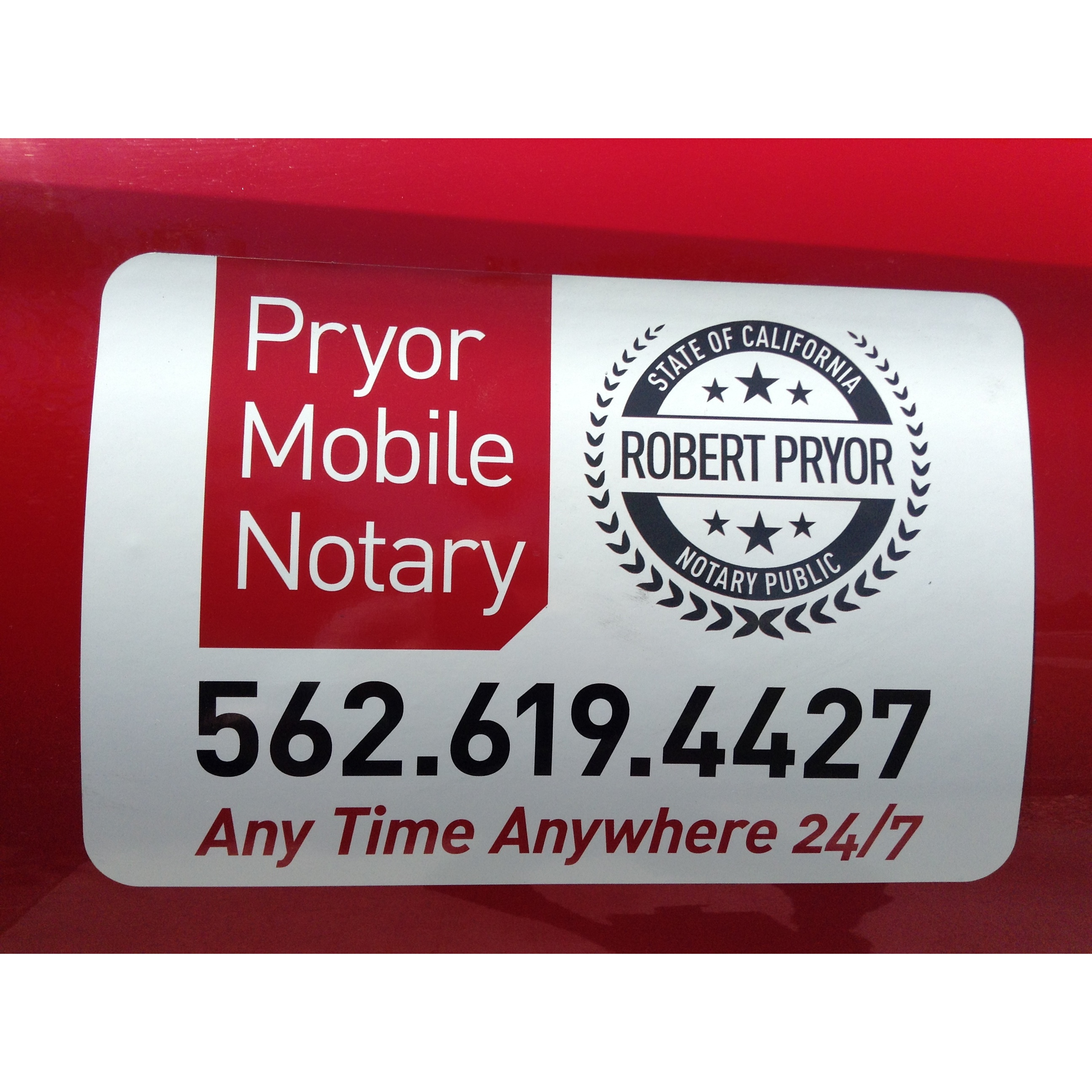 Robert Pryor Mobile Notary Public - Downey, CA 90242 - (562)619-4427 | ShowMeLocal.com