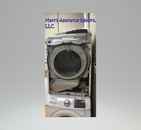 Dryer Machine taken apart
