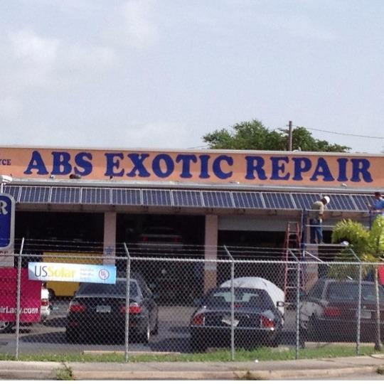 ABS Exotic Repair