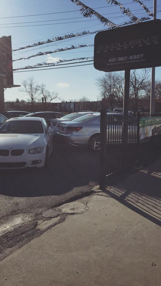 Exclusive motor cars baltimore md business directory for Exclusive motor cars baltimore md 21215