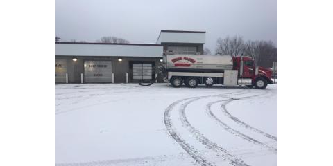 Holmen Pumping Truck Winter