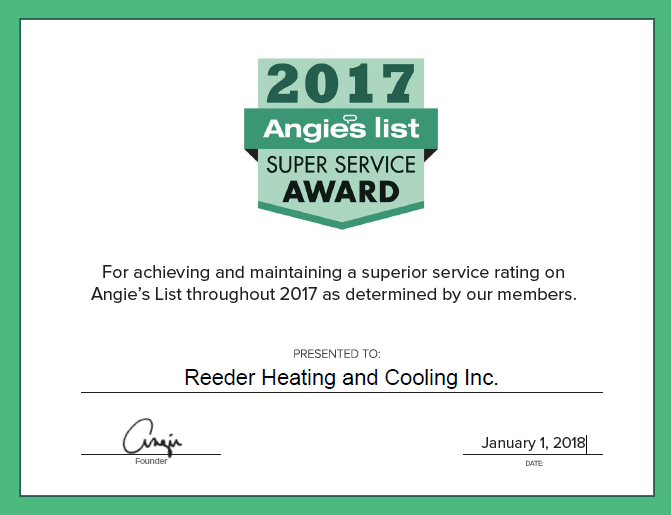 Reeder Heating and Cooling Inc. image 0
