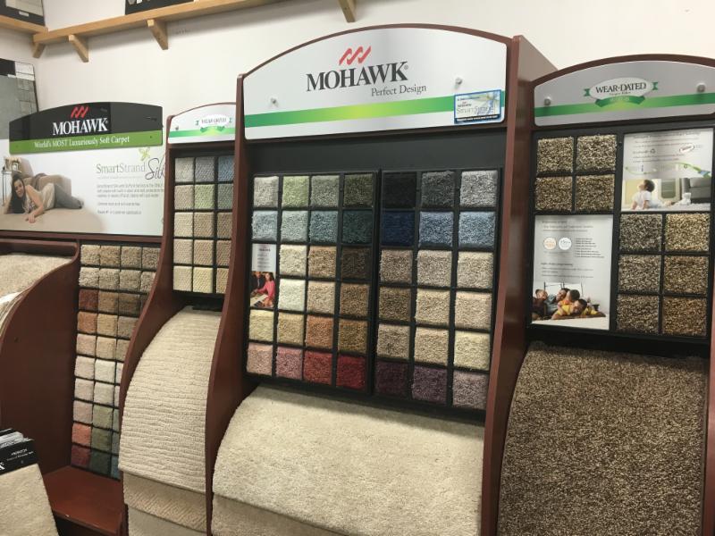 Schiller Floors Ltd in Quesnel: carpet samples