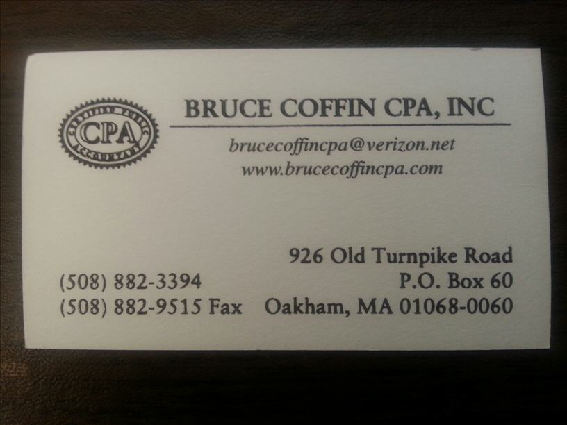 Coffin Bruce CPA, Inc. image 1