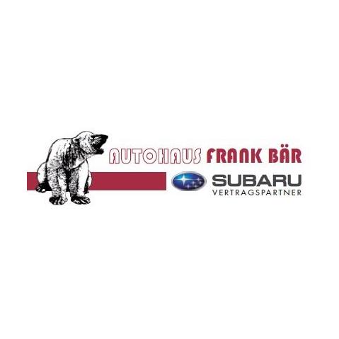 Logo von Autohaus Frank Bär - Subaru Vertragshändler