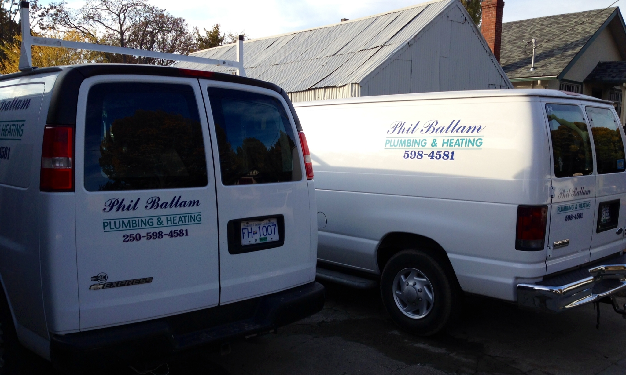 Ballam Phil Plumbing & Heating Co Ltd in Victoria