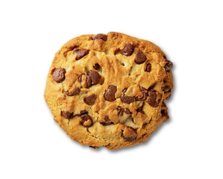 Single Chocolate Chip Cookie made by P.ZA Kitchen.