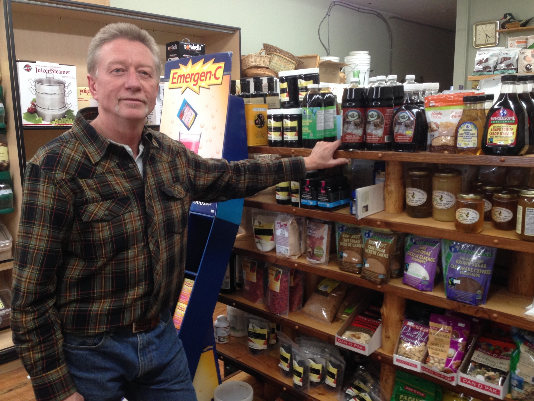 Sta Well Health Foods Store in Williams Lake: Bruce at Sta Well