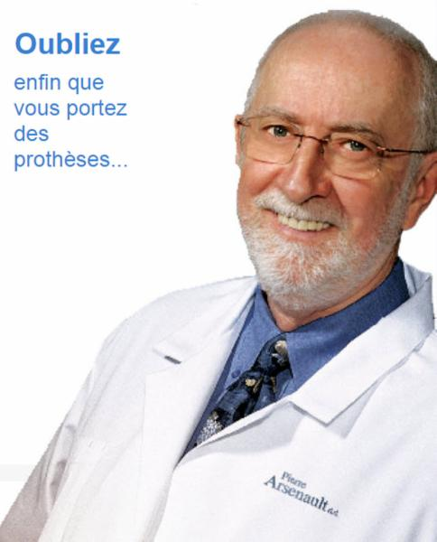 Pierre Arsenault Denturologiste