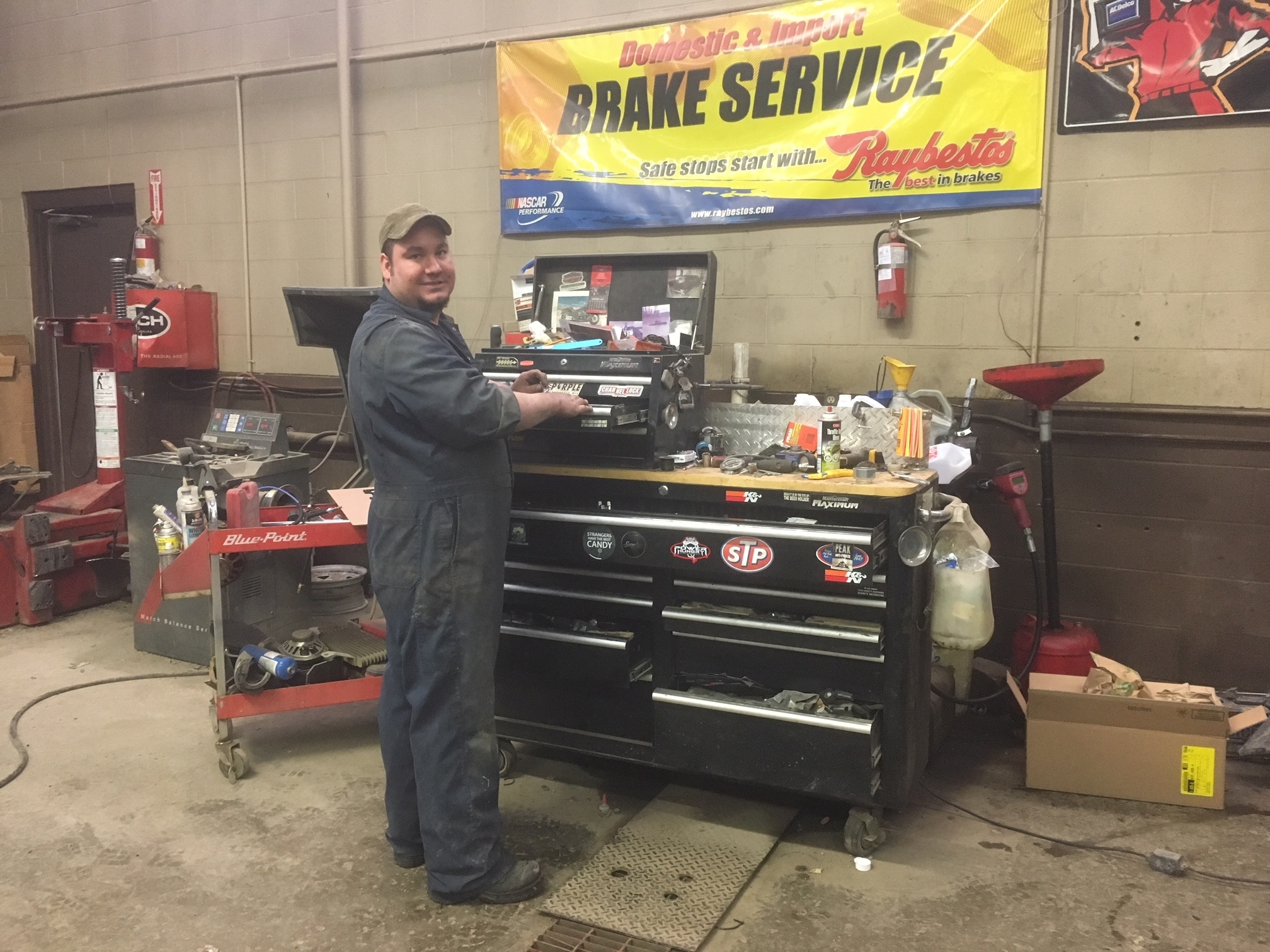 Lake City Auto Care Mall in Williams Lake: Lake City Auto Repair, Jon at his Tool Box