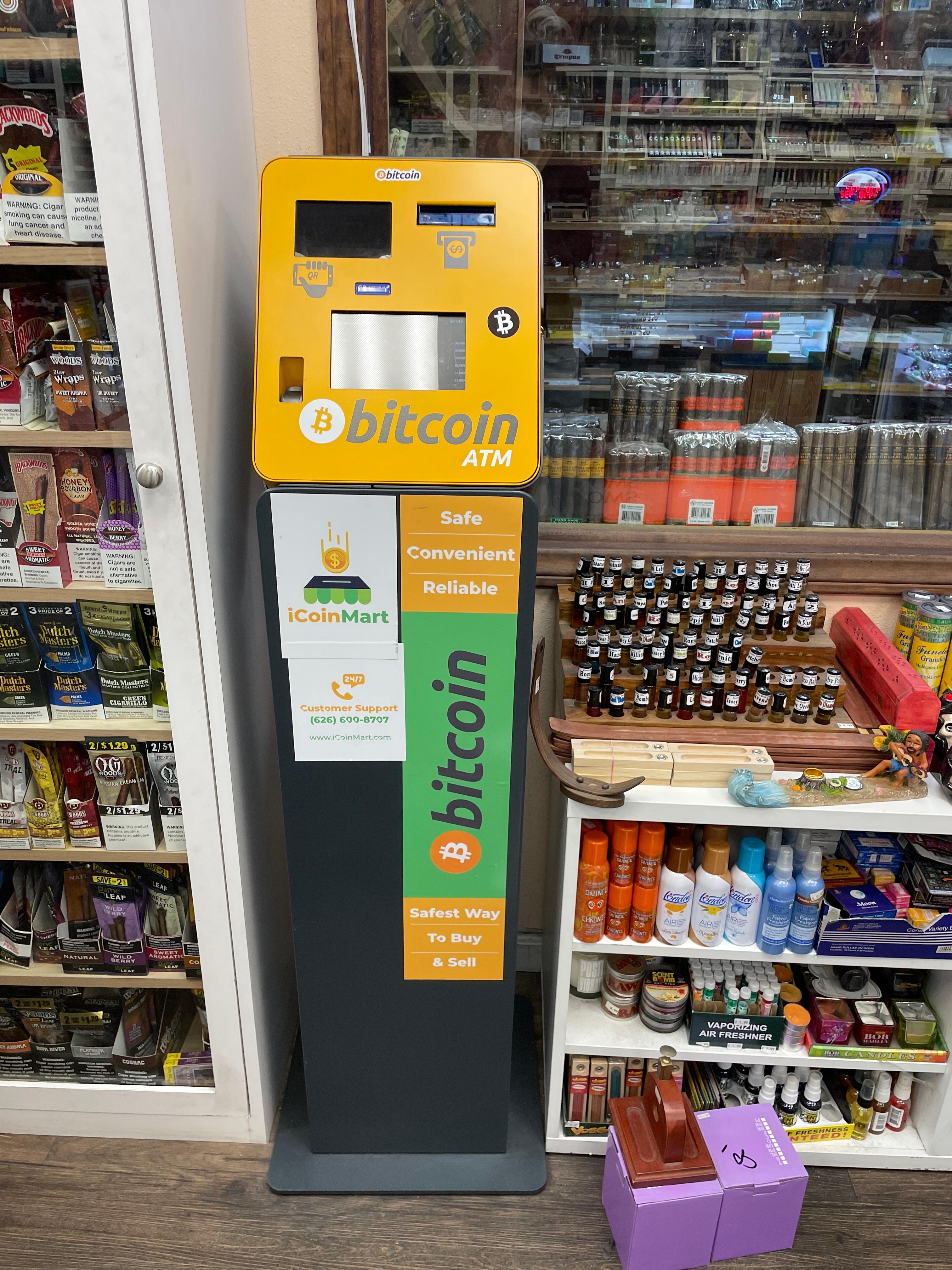 iCoinMart Bitcoin & Crypto ATM