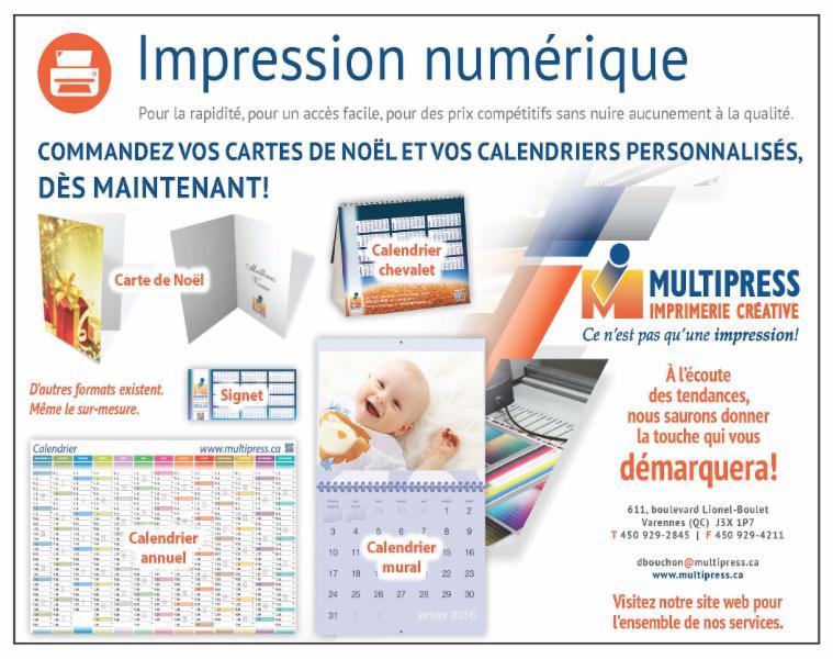 Imprimerie Multipress Inc