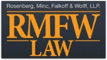 Rosenberg, Minc, Falkoff & Wolff, LLP - ad image