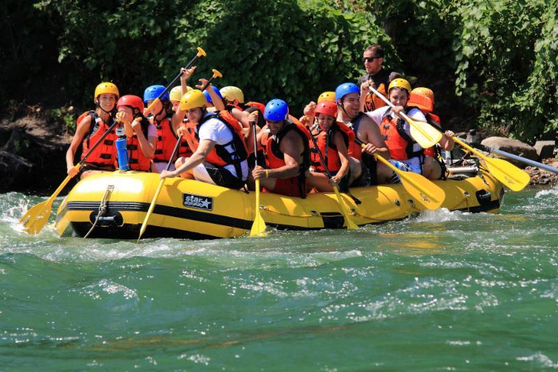Les Excursions Rapides de Lachine à LaSalle: The Lachine rapids, white water rafting