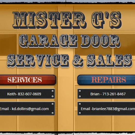 Mister G's Garage Door Service & Sales