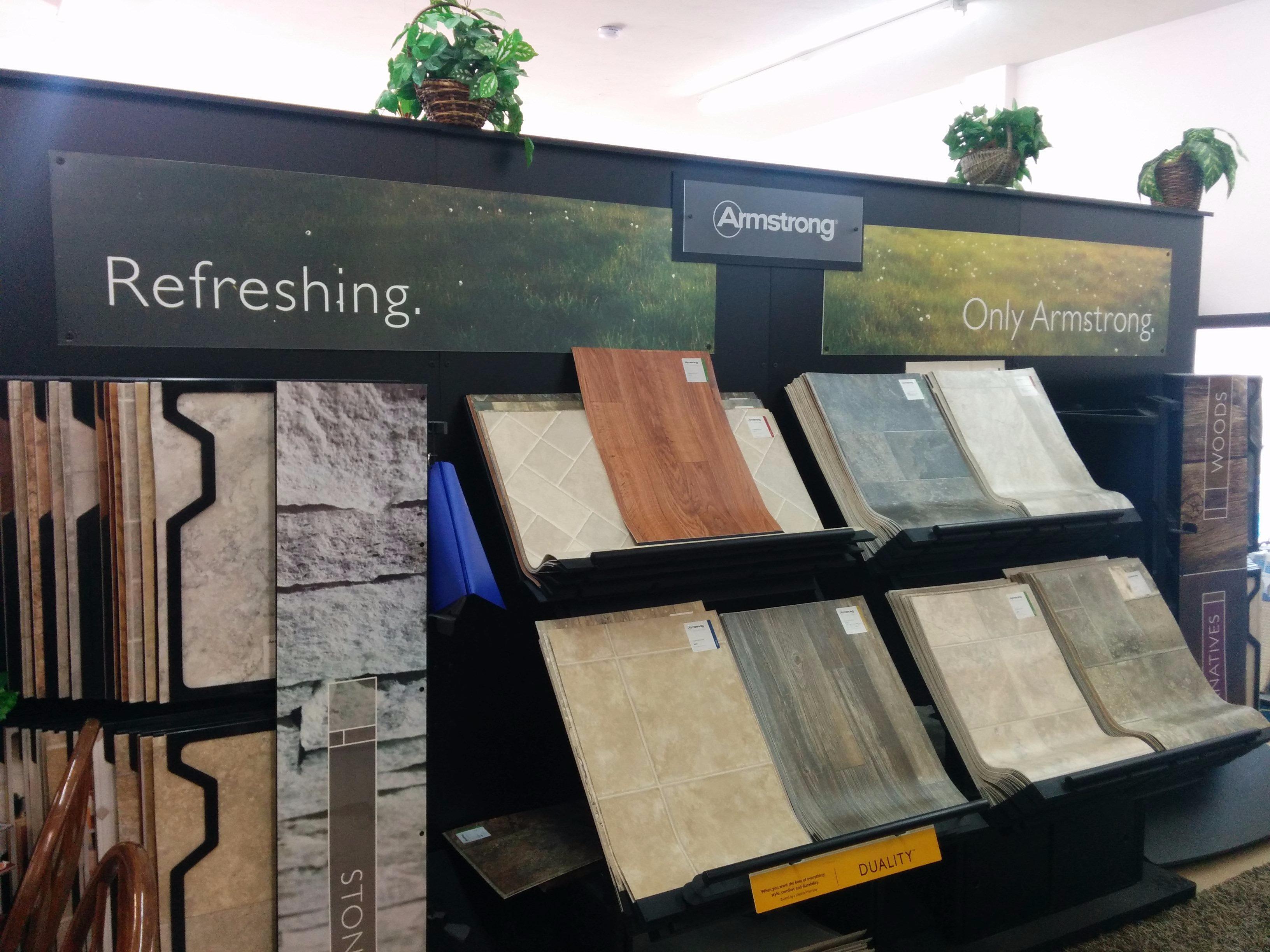 Tile floor stores