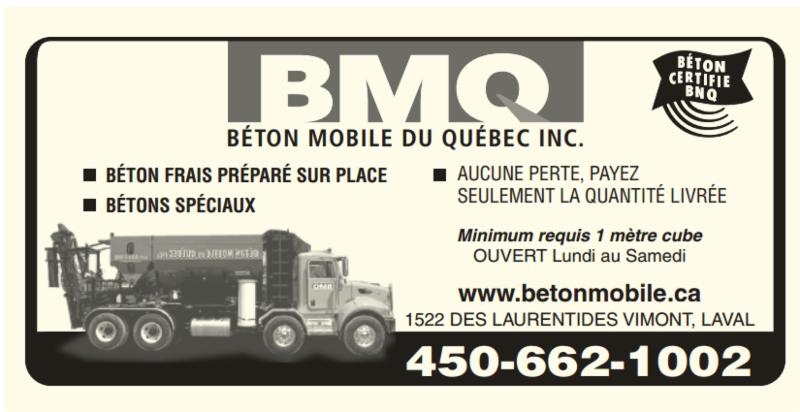Béton Mobile du Québec Inc à Vimont